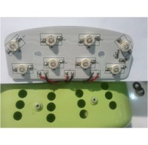 White aluminum pcba electronics LED assembly