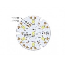 7 LED 40mm LED PCB Assembly Round LED Module Cool Base